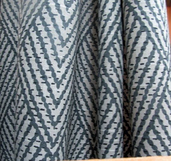 Geometric ikat gray sapphire fabric: http://www.etsy.com/listing/92041772/ikat-geometric-on-cotton-in-gray?ref=related-4