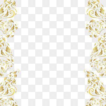 Golden Floral Frame Gold Color Png Transparent Clipart Image And Psd File For Free Download Bingkai Bunga Vektor Gratis Lencana