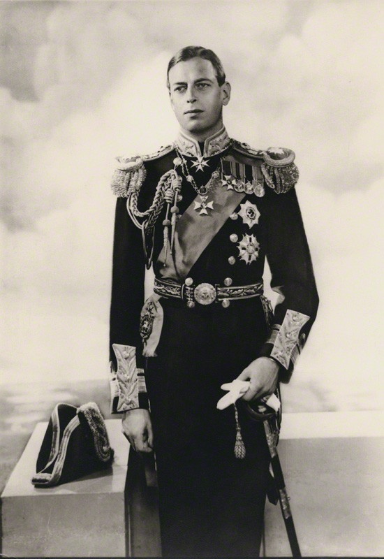 Prince George, Duke of Kent (George Edward Alexander Edmund; 20 December 1902 – 25 August 1942) was a member of the British Royal Family, the fourth son and fifth child of George V and Mary of Teck, and younger brother of Edward VIII and George VI. He held the title of Duke of Kent from 1934 until his death in 1942. (Source: royalkents)