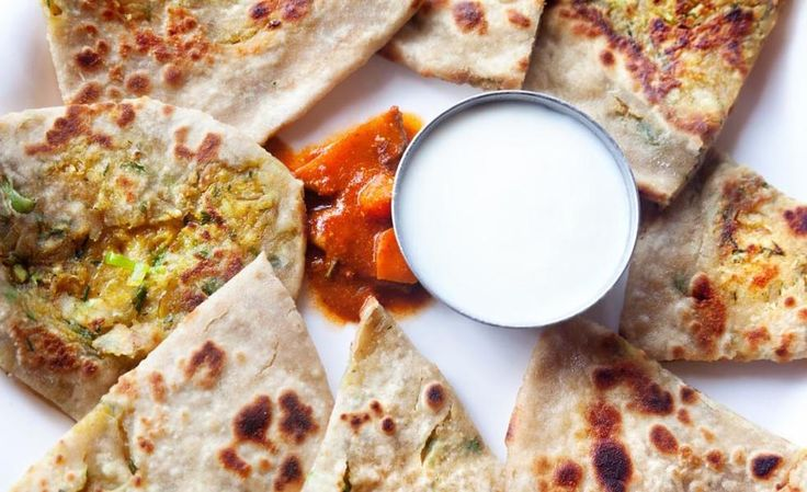 Aloo paratha - indiske potetbrød