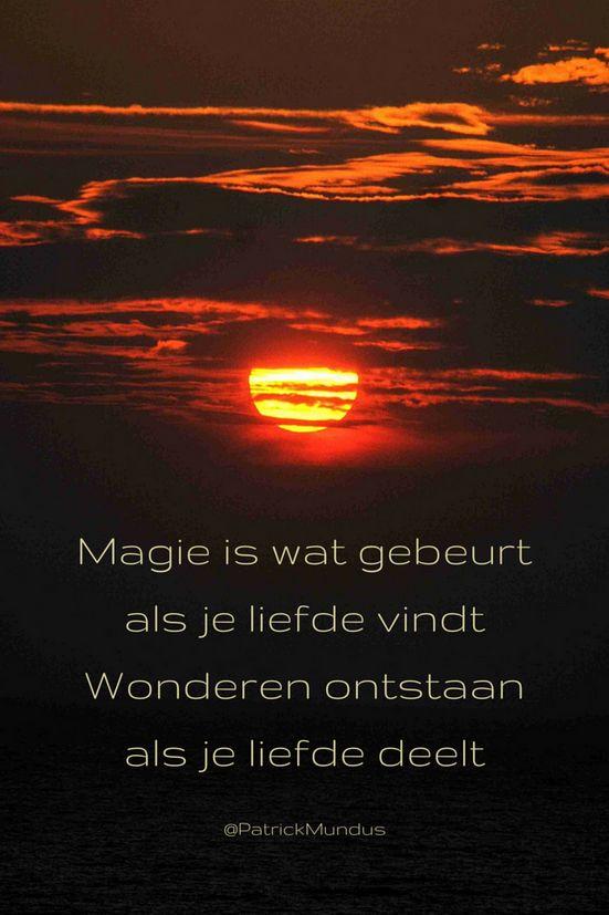 Magie is wat gebeurt als je liefde vindt. Wonderen ontstaan als je die liefde deelt...