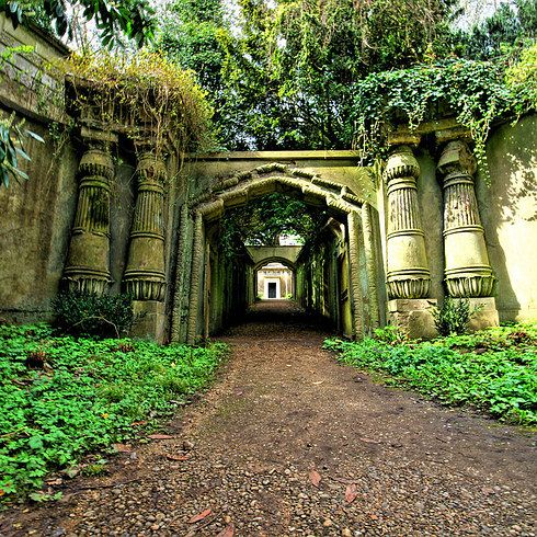 11. Highgate East Cemetery - For a hauntingly beautiful adventure, take a stroll through Highgate's East Cemetery (you'll have to book a guided tour to access the west). With stunning stonework and gorgeous woodland, the cemetery is the perfect place to get away from it all for a reflective walk. - 17 Lovely Walks To Take In London