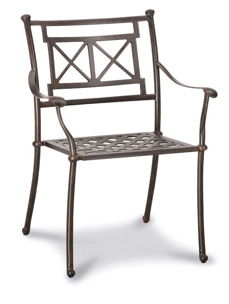 Best Stapelsessel Antigua Alu-Guss Bronze - Gartenstühle aus - gartenmobel alu holz