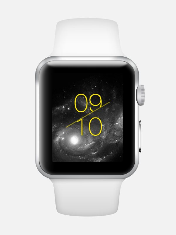 Apple Watch- Watch Face Concept 3 on Behance