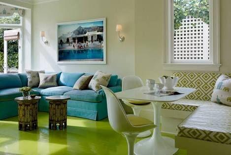 lime colour floors - Google Search