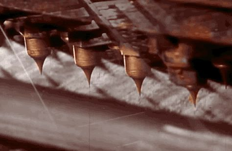 Hershey's Kisses. | 16 Oddly Satisfying GIFs Of Food Being Made