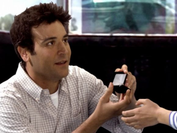 "Ted Mosby in ""How I Met Your Mother"""