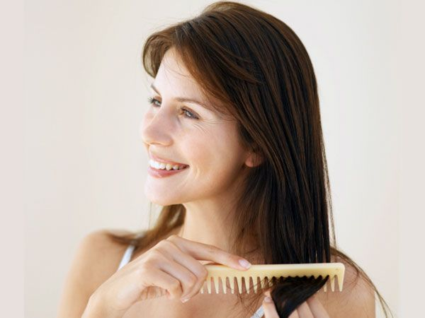 Healthy hair needs vitamins just like a healthy body.