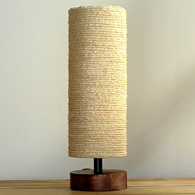 Beach Rope Table Lamp  List $69.99   SKU 114185   13 inches high x 4 inches in diameter