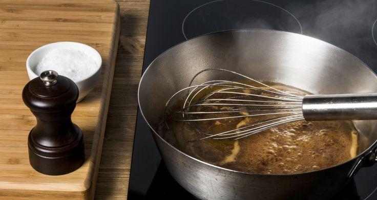 Hvordan redusere saus, så den blir tykk og smaksrik?