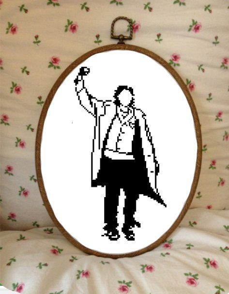 Cross Stitch Pattern  The Breakfast Club  by plasticlittlecovers, £3.00  I will be doing this soon!!!!
