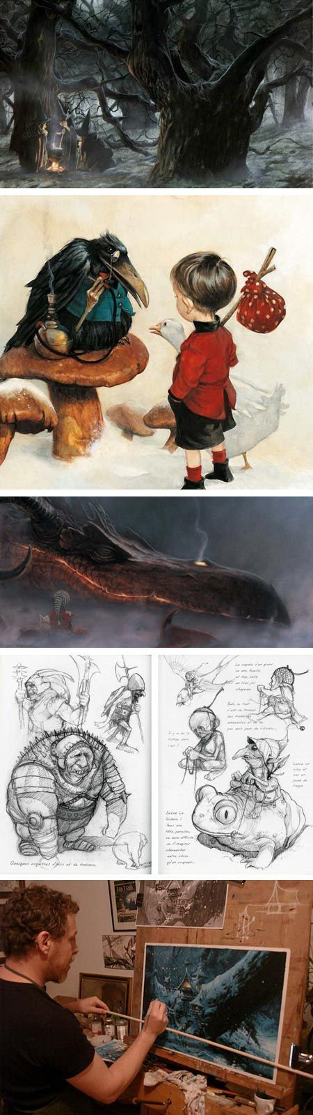 Lines and Colors: a blog about drawing, painting, illustration, comics, concept art and other visual arts » Interview with Jean-Baptiste Monge