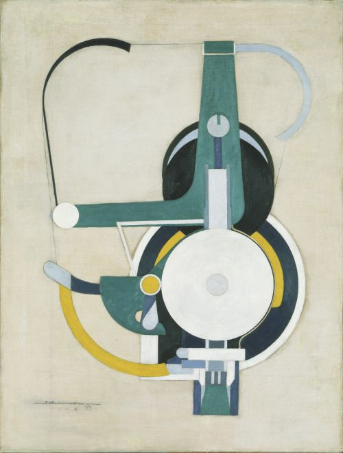 Morton Livingston Schamberg (American, 1881-1918), Painting (formerly Machine), 1916. Oil on canvas, 76.5 x 57.8 cm.