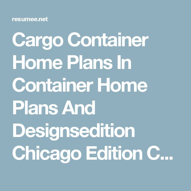 17 best ideas about cargo container on pinterest container house plans shipping container - Shipping container homes chicago ...
