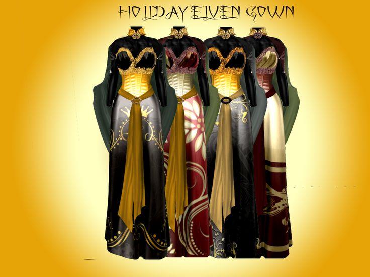 holiday elven dress