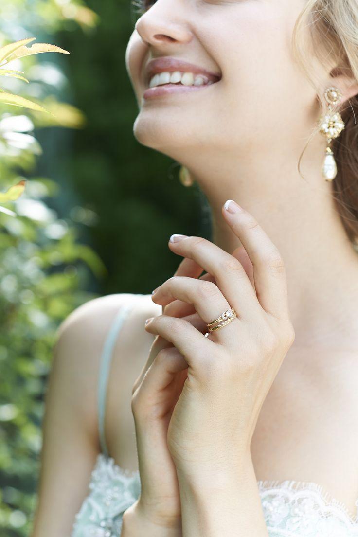 Laurel #NOVARESE #NOVARESE Prima #Prima #wedding #accessory #ring #pair #original #engagement #marraige #ノバレーゼ #ノバレーゼプリマ #結婚指輪 #婚約指輪 #指輪 #ベール #Laurel