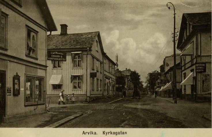 Arvika omkring år 1900
