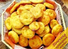 Заварное печенье с тыквой (рецепт) — Кулинарный портал Печенюка