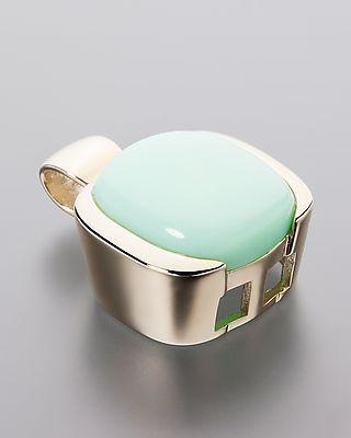 Wunderschöner Anhänger mit schimmerndem, grünem Opal #Schmuck #opal #Terra #Opalis #jewellery #jewelry #pendant #green