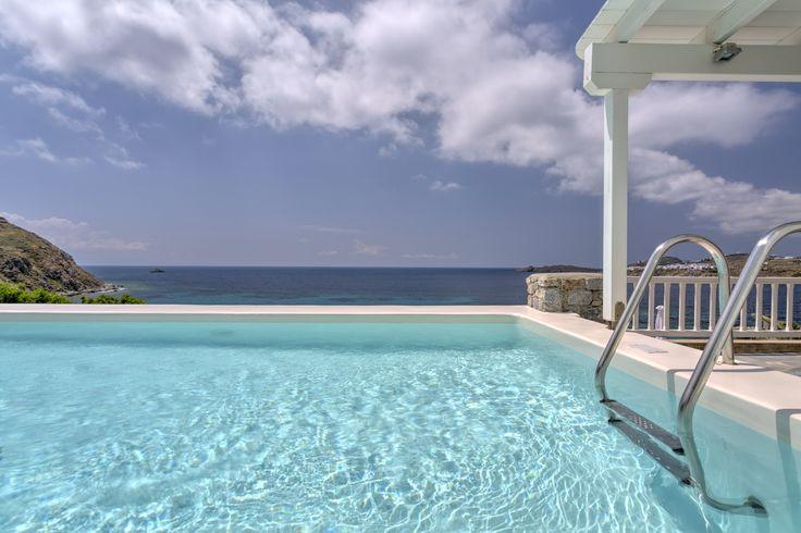 Pool or beach or maybe both? @santa Marina Resort & Villas, #Mykonos