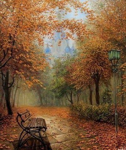 Pintura de otoño