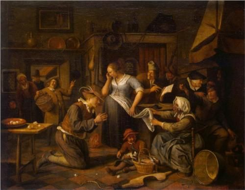 Marriage Contract - Jan Steen