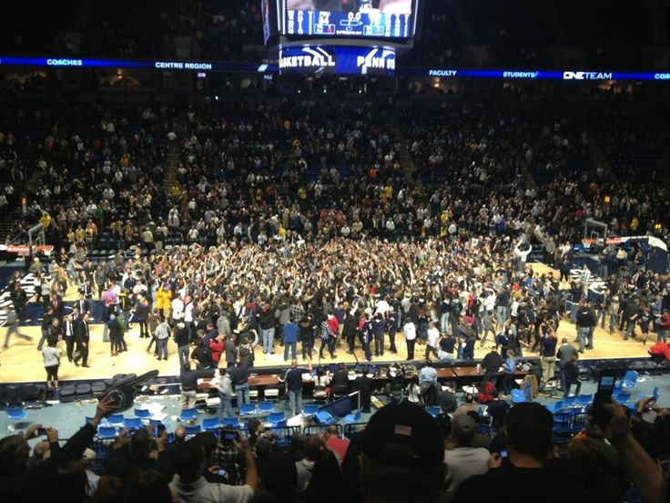 Penn State Basketball Stuns No. 4 Michigan, 84-78 -- Photo by Ryan Beckler   CONGRATULATIONS LIONS!!
