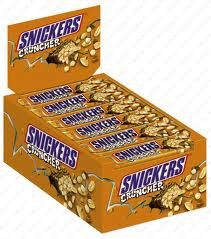 Snickers Cruncher Bar 24 Count