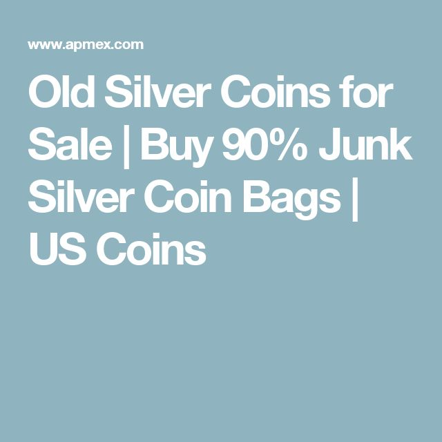 Old Silver Coins for Sale | Buy 90% Junk Silver Coin Bags | US Coins