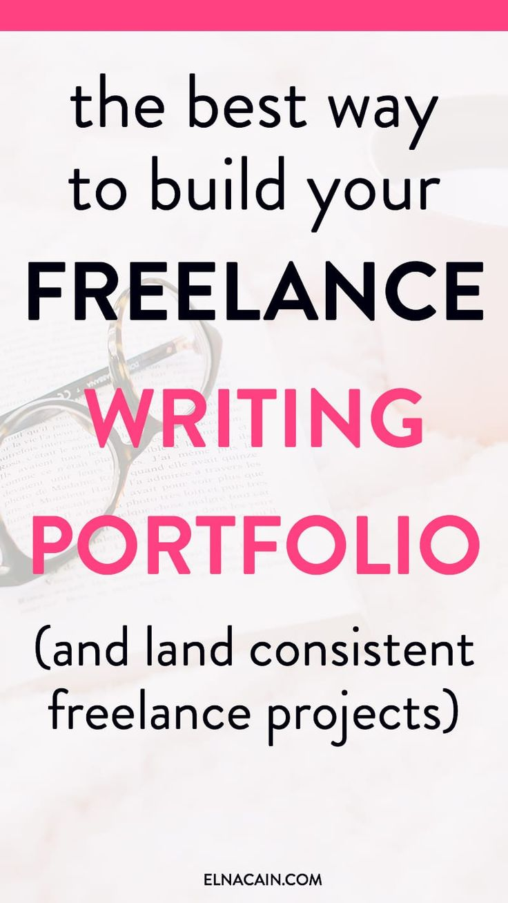 How do you start a freelance writing portfolio? Freelance writing jobs need samples of your writing. Learn the right way to build your freelance portfolio | freelance writing tips | #freelance #portfolio