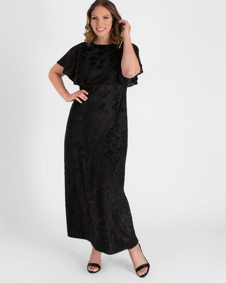 Kiyonna Womens Plus Size Parisian Dream Evening Gown 1