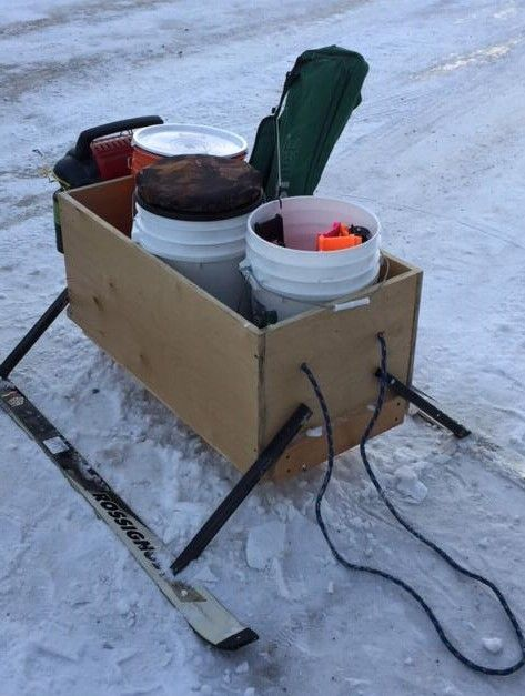 Customer Creation: From cabinet to ice fishing sled