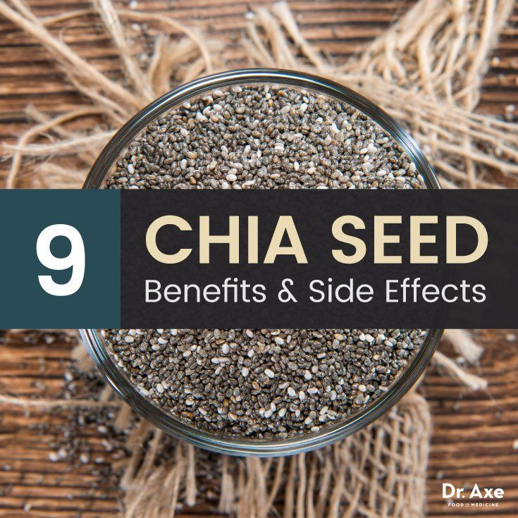 Benefits and Side Effects of Chia Seeds