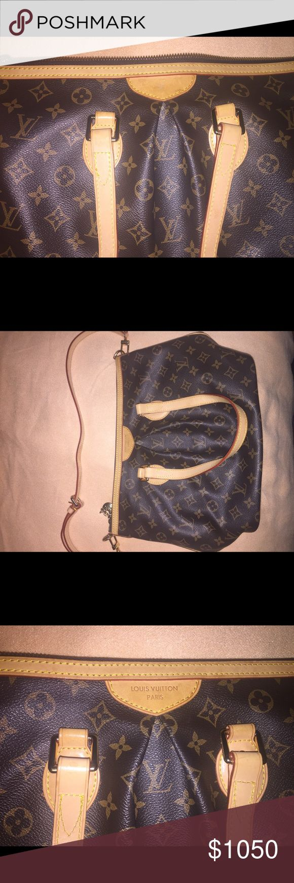 "LV BAG Louis Vuitton 100% Authentic LV Palermo pm in perfect condition and never been used. Exterior has beautiful  brown monogram canvas, long leather straps, handle straps and gold hardware.  Interior is a solid brown canvas material.    Measurements: 14""L  x  11""H  x  6""W   Free authentication by Poshmak   Bundle discount can't be used when purchasing this item Louis Vuitton Bags Shoulder Bags"
