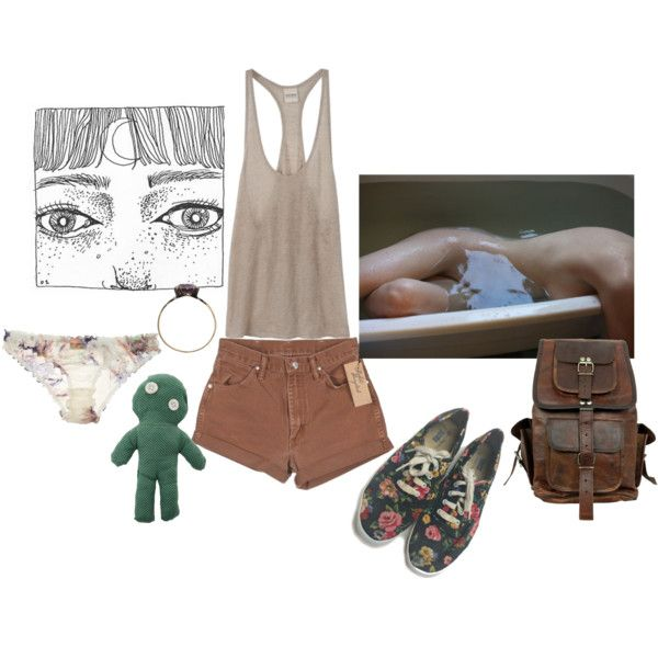 Untitled #198 by papawine on Polyvore featuring Beautiful Bottoms, Keds and Wrangler