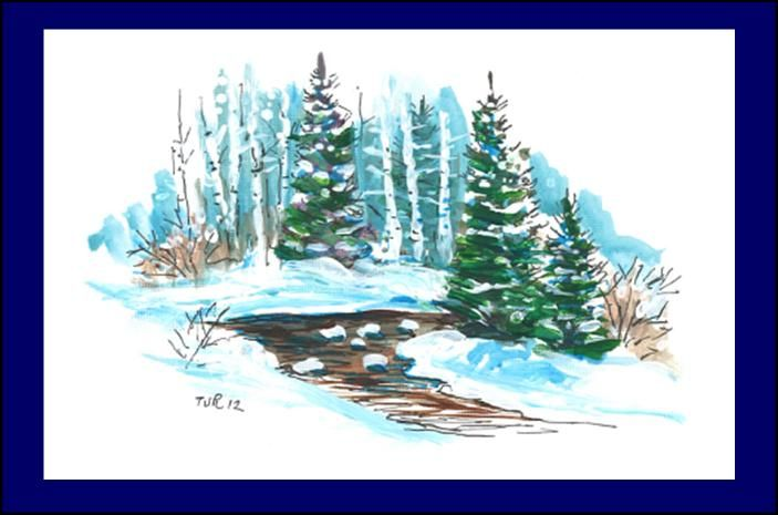 11 best images about outdoor scenes cards on pinterest Christmas card scenes to paint