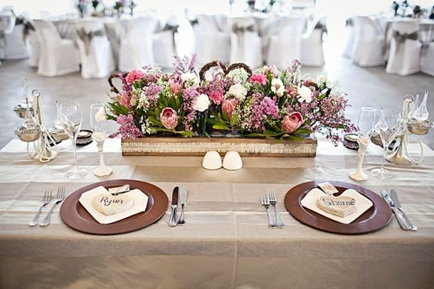 Proteas can decorate any table - instant celebration!