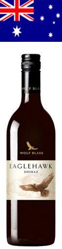 Eaglehawk |  Vintage: 2016 |  Origin: Australia |  Region: South Eastern Australia |  Estate: Wolf Blass |  Grape: Shiraz |  Alcohol: 13.5% | Supplier: Tesco | Price (2017): £6.00