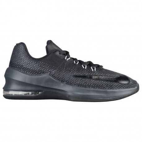 nike air max black and grey,Nike Air Max Infuriate - Boys\u0027 Grade School -  Basketball - Shoes - Black/Black/Anthracite/Dark Grey
