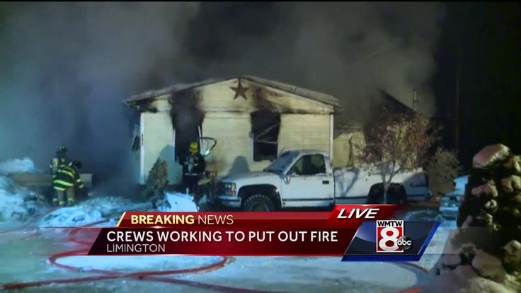 A space heater used to heat pipes may be to blame for an overnight fire in Limington, fire officals said. The fire was reported at a home on Moody Road. Temperatures overnight in Limington hit -29 degrees.
