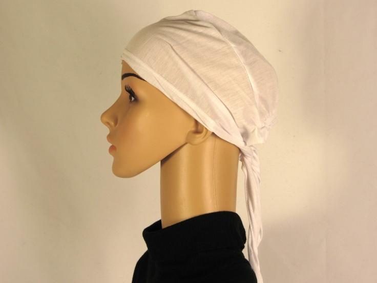 Ridaaz - Under scarf Cap plain white, $5.99 (http://www.ridaaz.co.nz/underscarf/under-scarf-cap-plain-white/)