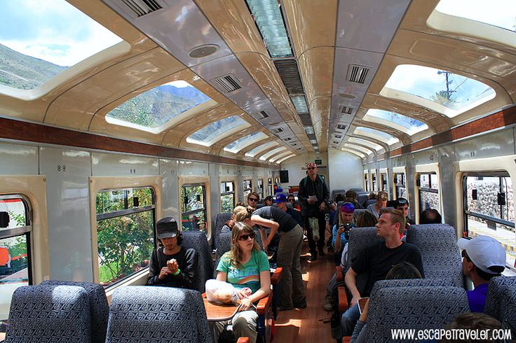 Machu Picchu Train - Train to Machu Picchu - Peru Rail    www.escapetraveler.com  www.escapetraveler.com/getting-to-machu-picchu-how-to-get-to-machu-picchu-peru/