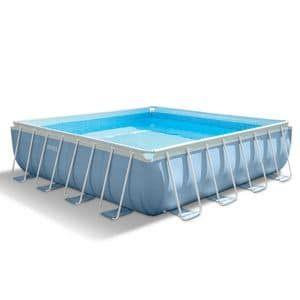 Intex 28764 Rahmen Quadratisch Blau, Weiß Aufstellpool Intex Pool Prism  Frame Quadrat 427 X 427 X 107 Cm. Hier Klicken, Um Weiterzulesen. Ihr  Onlineshop In