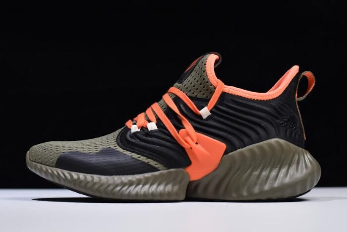 a1973847a80fe adidas AlphaBounce Instinct CC M Olive Team Orange F35394 in 2019 ...