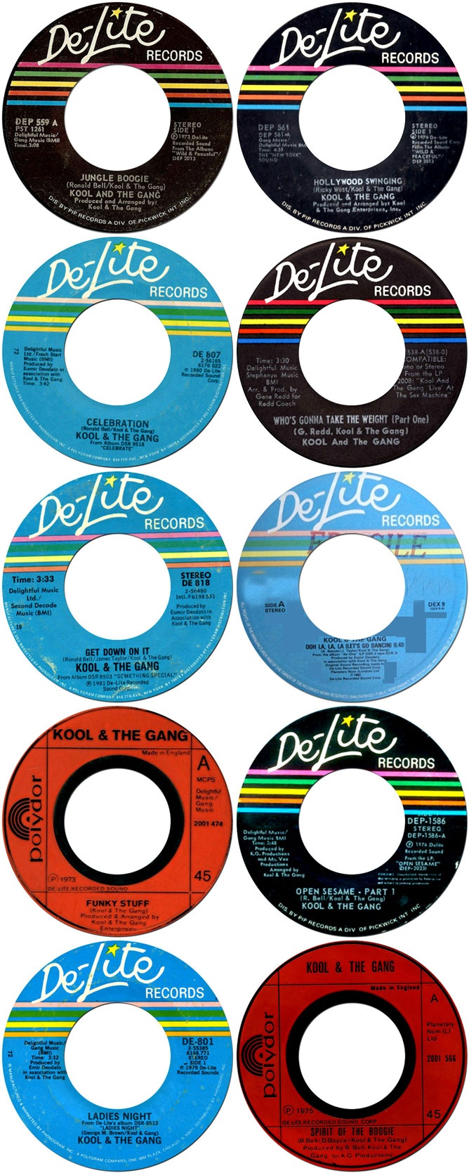 Vintage De Lite Records Chicorg Pinterest
