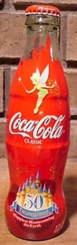 Coca-Cola Bottle--2005 Disneyland 50th Anniv (wrapped)