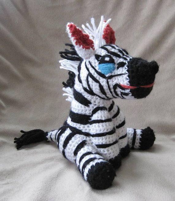 Zebra Pattern Horse Rug: 23 Best Amigurumi Horses Images On Pinterest
