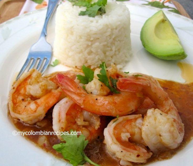 Camarones con Salsa de Tamarindo (Shrimp with Tamarind Sauce)