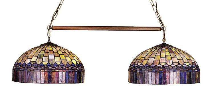 Tiffany Candice 2-Light Pool Table Light