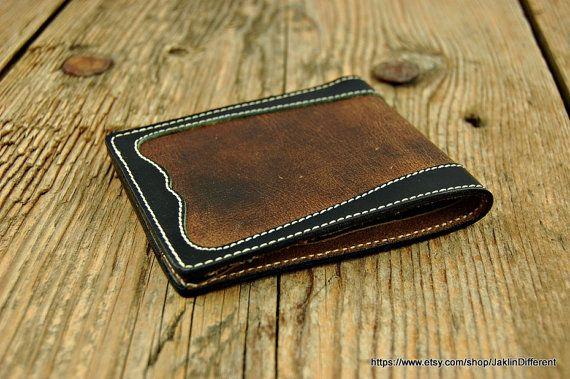 Brown Wallet Men's Personalized/Leather Wallet /Groomsmen Gift/Mens Wallet/Gifts for Men Best /Nice leather wallet/Cool Wallet